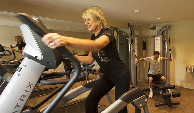 Fitness Center - Hotel Abrego Monterey California