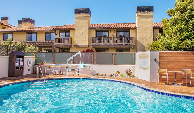 Pool & Spa - Hotel Abrego Monterey California