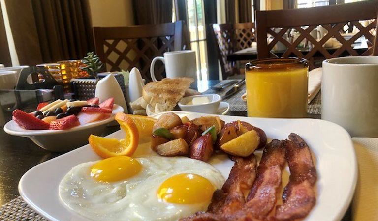 Adult Breakfast Package - Hotel Abrego Monterey California